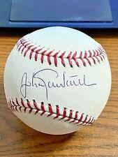 JOHAN SANTANA SIGNED AUTOGRAPHED OML BASEBALL!  Twins, Mets!