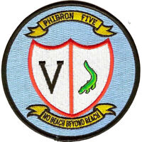 PHIBRON 5 Amphibious Squadron Patch