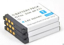 new 3pcs NP-FT1 Battery for Cyber-shot DSC-T10/W T1 T3 T9 T10 T11 T33 NPFT1 L1/L