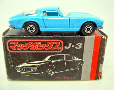Matchbox SF Nr.14A Iso Grifo babyblau japan Version dot-dash Räder schwarze Box