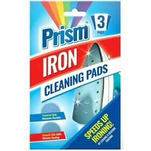 Iron Cleaning Pads Cleaner Sole-plate Removes Burnt Residue Silicone Coat