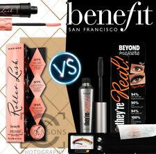 BENEFIT THEY'RE REAL BEYOND MASCARA/ BENEFIT ROLLER LASH