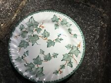 Bhs Ivy Country Vine Dessert Plates X 3 Used. 8 Inches
