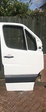 MERCEDES SPRINTER  White OS Front Right Drivers Door 2006/2017 MINT!