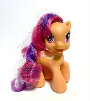 MY LITTLE PONY Hasbro 2008 SCOOTALOO C-029A G3.5 Glitter Hair MLP Ponies doll