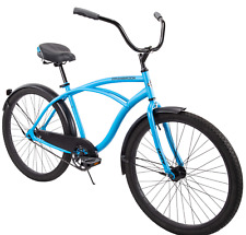 "Huffy 26"" Cranbrook Men's Beach Cruiser Comfort Bike, MatteBlue brand new in box"