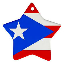 NEW Puerto Rico Flag for Star Ornament one side Free SHipping