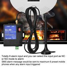 GSM-Alarm GL09 8-Kanal App Steuerung Alarmsysteme SMS-Alarm-Sicherheitssystem