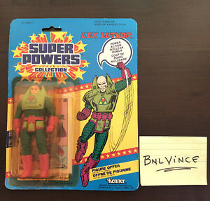 Kenner DC Super Powers Collection Lex Luthor Action Figure - Sealed - Canadian