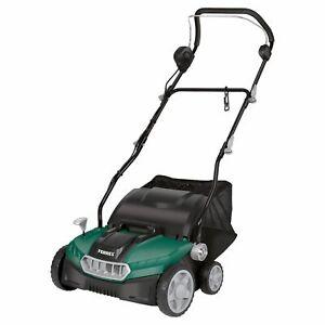 Ferrex Electric Lawn Scarifier & Aerator -1500W - With 45L Bag --S/R