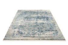 Musterring Apollo 822 grau-blau Designer Teppich