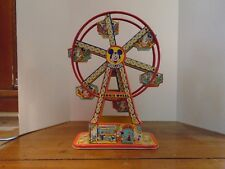 Antique Tin-Litho Disney Land Toy Ferris Wheel