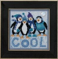 Mill Hill Buttons and Beads - Cool Quartet - Cross Stitch Kit - MH14-3301