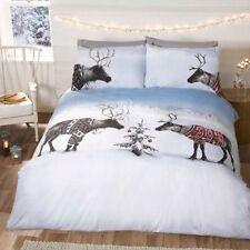 Linge de lit et ensembles Noël en polyester pour chambre à coucher