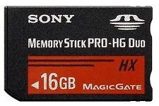 Tarjetas de memoria para cámaras de vídeo y fotográficas Sony para 16 GB