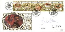 More details for 1995 shakespeare first day cover spg 26q certified signed iain glen john geilgud