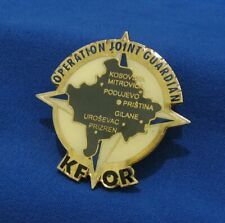 SERBIA KOSOVO KFOR OPERATION JOINT GUARDIAN BADGE