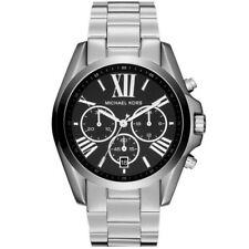 Michael Kors Black Silver DESIGNER Chrono Watch MK5705