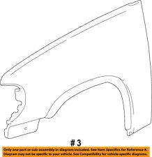 FORD OEM Explorer Front Fender-Wheel Well Flare Arch Molding Left 1L2Z16039CBA