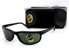 NEW RAY-BAN Sunglasses Predator 2 Matte Black G-15 Glass Lens Wrap RB 2027 W3327