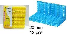 20mm Medium Plastic Hair Rollers Curler Soft Tool random color