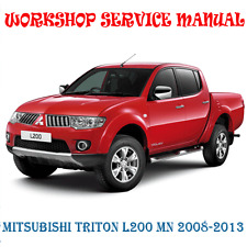 MITSUBISHI TRITON L200 MN 2008-2014 WORKSHOP SERVICE MANUAL (DIGITAL e-COPY)