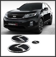 Front Hood / Trunk / Steering Horn K Logo Emblem 3p for KIA SORENTO R  ( 2013 )