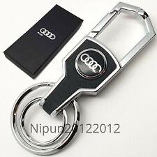 New Audi Key Ring Key Chain Car Key Holder A1 A2 A3 A4 A5 A6 A7 A8 RS & S Lines
