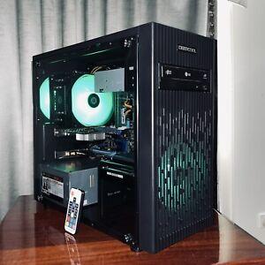 i5 Deepcool ASUS Tempered Glass Gaming PC Computer 120GB SSD 16GB RAM GTX 650