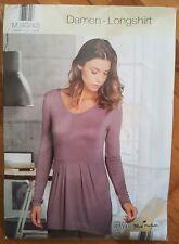 Damen Bluse Longshirt Babydoll M 40 42 von Blue Motion Shirt neu in OVP Langarm