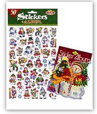 Álbum de Navidad muñecos de nieve pegatinas y fantástico para niños para Tarjetas y Manualidades