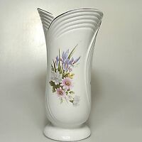 Große Alba Julia Vase Blumenvase ca. 27 x 14 cm Blumenmotiv
