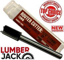 Lumberjack TR12 Router Cutter for Trend Hinge Jig Lock Jig Housing Grooving