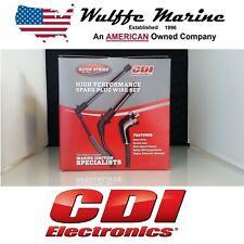 Spark Plug Wire Set Mercruiser V6 4.3L Thunderbolt Ignition 18-8810 84-813720A11