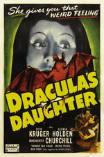 G3012 Draculas Daughter Gloria Holden Movie 1 Vintage Laminated Poster FR