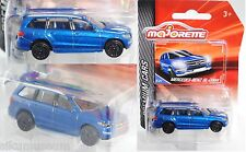 Majorette 212053052 Mercedes-Benz GL-Klasse blau Sammlerflyer 1:58 PREMIUM CARS