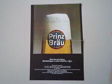 advertising Pubblicità 1966 BEER BIRRA PRINZ BRAU