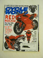 January 2007 Cycle World Magazine, Red Rocks <F>  (BD-8)