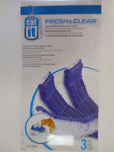 CatIt Cat It Fresh & Clear Water Fountain Filter 50056 3-pk