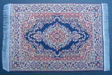 1:12 Scale 10cm x 15.5cm Woven Turkish Rug Tumdee Small Dolls House Carpet P4s