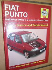 FIAT PUNTO WORKSHOP MANUAL HAYNES PETROL AND DIESEL ENGINES 8 16 VALVE TURBO 55