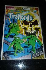 TROLLORDS Comic - No 1 - Date 1988 - Comico Comics
