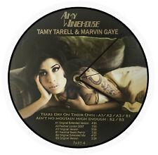Horloge Vinyle  AMY WINEHOUSE, Disque Vinyle 33T, Picture Disc, Maxi, Album,110b