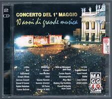 CONCERTO DEL 1° MAGGIO 10 ANNI DI GRANDE MUSICA - 2 CD F.C. LITFIBA BATTIATO