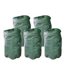 5x Gartenlaubsack 120 Liter Rasensack Laubsack Abfallsack