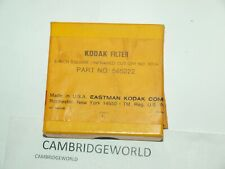 KODAK FILTER 3 inch SQUARE INFRARED CUT OFF No.301A PART No.565222 NEW OLD STOCK