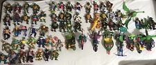 Vintage  1988-1993 Teenage Mutant Ninja Turtle Figures Lot (60+ Figures & Veh)