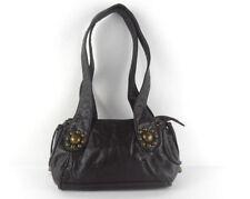 Borsetta Vintage vintage anni 70 borsetta in pelle eborchie e pendenti fashion