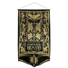 Highly Collectable Fantastic Beasts Find Them Newt Book Cvr Gold Glitter Banner