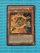 Gladiator Beast Laquari RYMP-EN096 Secret Rare Yu-Gi-Oh Card 1st Edition New